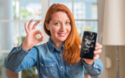 Kako popraviti razbijeno staklo na mobitelu