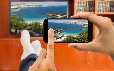 Kako povezati mobitel i tv